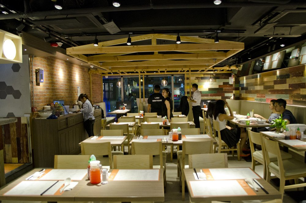 Fuhn restaurant's interior. humidwithachanceoffishballs.com