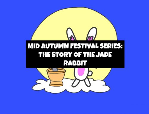 STORY OF THE MOON RABBIT FROM THE CHINESE MID AUTUMN FESTIVAL
