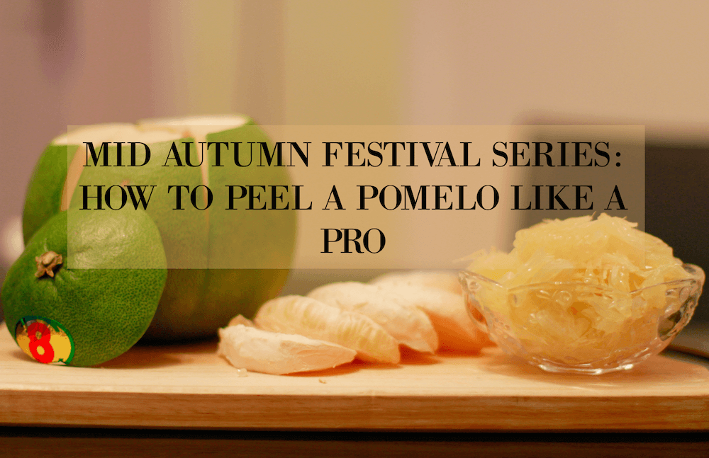 how to peel and open a pomelo fruit like a pro. thesmoodiaries.com