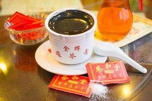 Herbal tea and jelly in Hong Kong